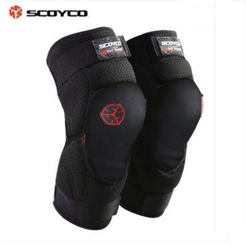 2018 Новый Scoyco мотоциклетные коленной чашечки K16 Защитная Kneepad Мотокросс мотобайк оборудование защиты коленей