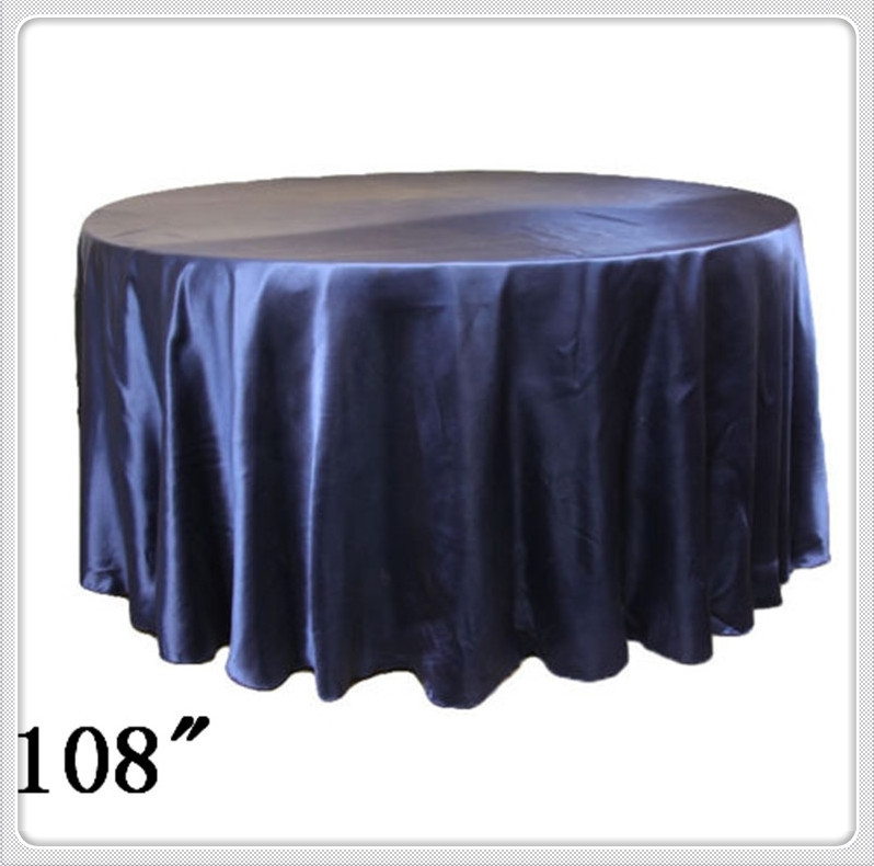 10pcs 108 39 39 round satin table cloths round table cloths for 108 round table cloth