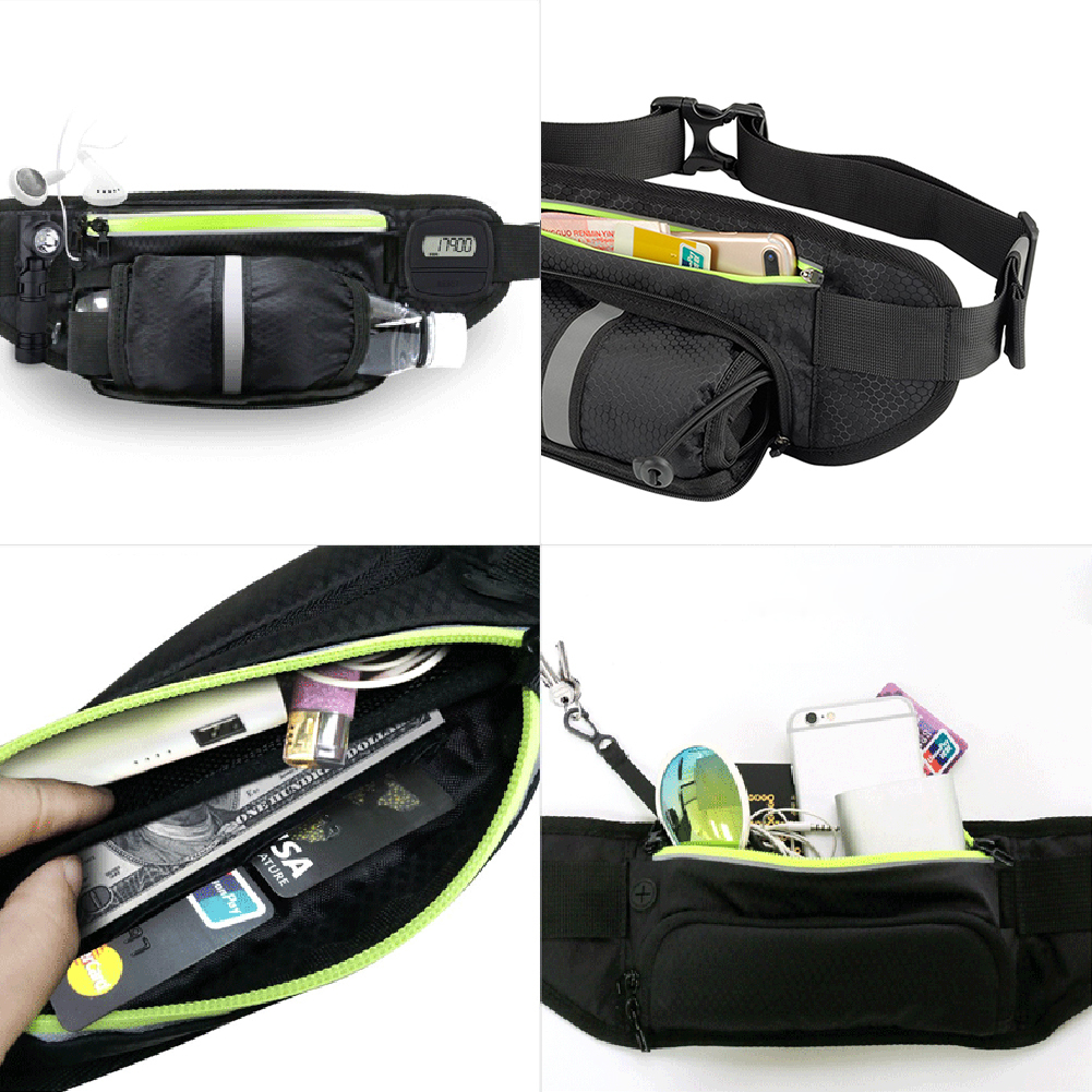 Fitness Sport Accessories Trail Running Bag Mobile Belt Marathon Women Mens Sports Wallet Bags Waist Bottle Bag 11