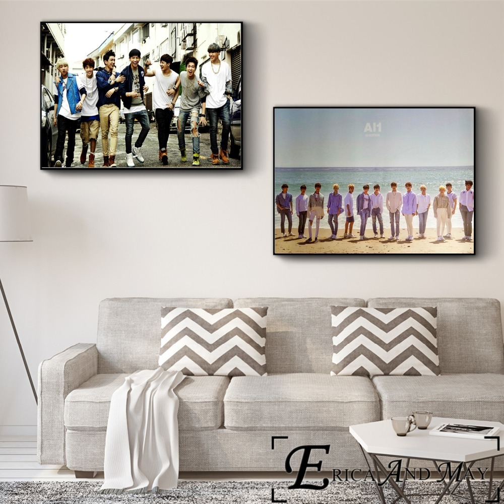 Got7 Music Kpop Photography Poster Print Canvas Art