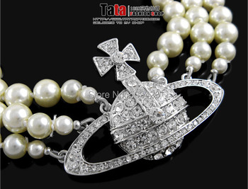 """Free Shipping >>>N130302511 3ROW  8.mm White SHELL Pearl Necklace 17-19"""""""