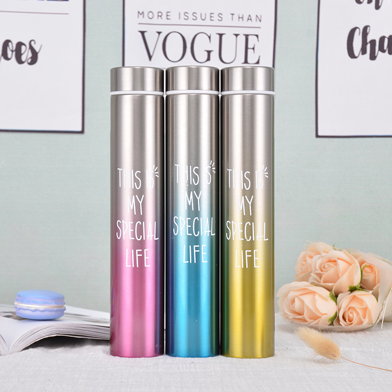 Slim and Insulated Thermal Flask and Vacuum Bottles for Carrying Hot Water and Coffee Outdoor 4