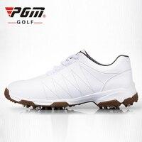 PGM Patent Tasarım Golf Ayakkabı kadın Kayma geçirmez Ayakkabı Çivi Golf Sneakers Su Geçirmez Nefes Antiskid Spor Ayakkabı 35-39