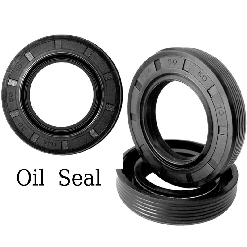5pcs NBR Skeleton Oil Seal TG4 Double Lip Oil Seals Radial Shaft Sealing Gasket Inner Diameter 25*35/37/38/40/42/45/50/52*7/8/10