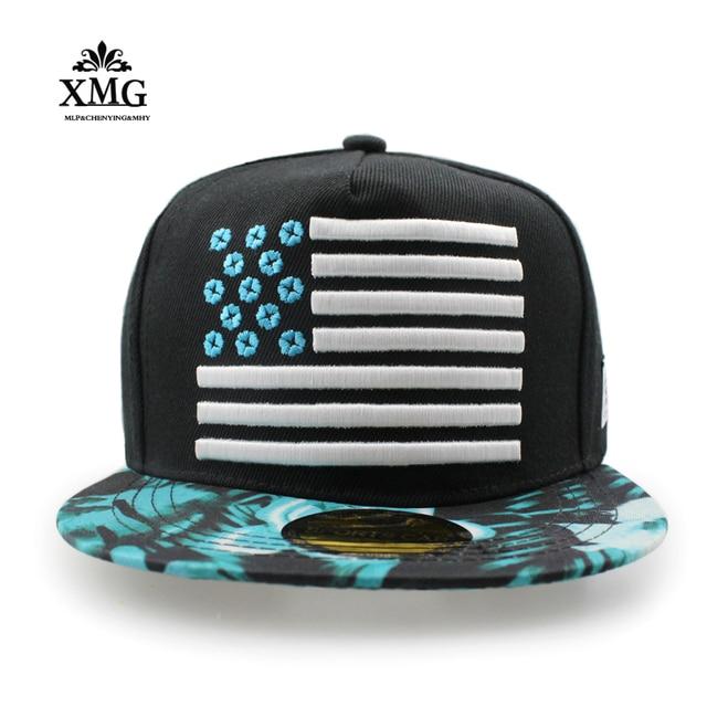 2017 Bandiera Americana Cappello Maschile Estate cappello piatto berretto  da baseball Americano cappelli di moda Giovanile a88df44ecb8b