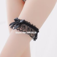 Sexy Princess Lace Floral Hand ring thigh ring Leg Garters Belt Soft Elastic Wedding Party Bridal Cos Cosplay Stocking Suspender(China)