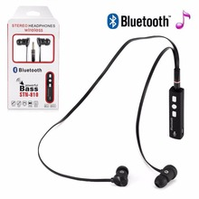 Professional Wireless Bluetooth Stereo Headset Handsfree  Headphone with Mic Microphone Smart Phone HiFi Earphone Gift
