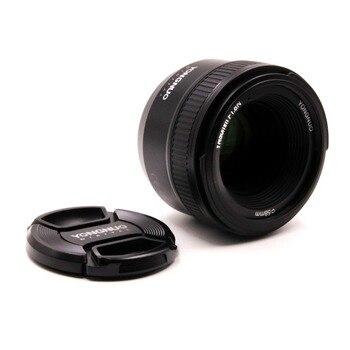 YONGNUO YN50MM F1.8 Large Aperture Auto Focus Lens for Nikon DSLR ,50mm f1.8 lens + Gift Kit