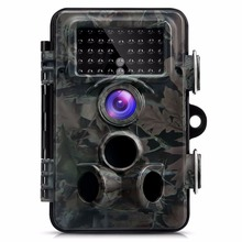 Discount! HD 1080P Hunting Trail Camera Photo Traps 12MP Night Vision Waterproof Digital Cameras Wild Animal Observation Recorder