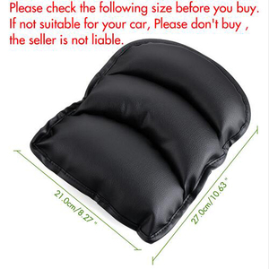 Image 5 - Car Armrests Cover Pad Vehicle Center Console Arm Rest Seat Pad For Audi A4 B6 A3 A6 C5 Q7 A1 A5 A7 A8 Q5 R8 TT S5 S6 S7 S8 SQ5