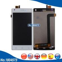 "4.5 ""pulgadas de Pantalla LCD Para FLY FS452 Nimbus 2 FS 452 Pantalla LCD y Panel de la Pantalla Táctil de la Asamblea Digitalizador Sin Marco 1 PC/Lot"