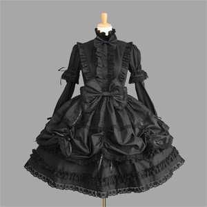 5e13db9d3d Victorian Gothic Lolita Dress Costume Maid Cosplay