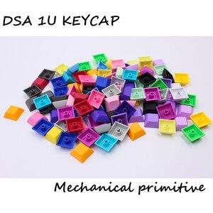 Image 1 - MP 1U DSA Phím PBT Trống Keycap Mixded Màu Cherry MX Switch Keycaps Có Dây USB Bàn Phím Cơ Gaming