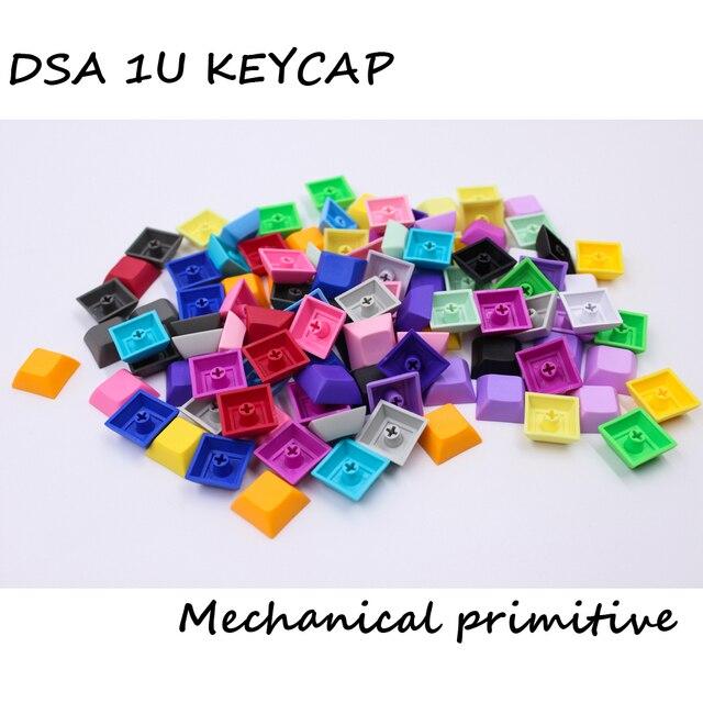 MP 1U DSA Phím PBT Trống Keycap Mixded Màu Cherry MX Switch Keycaps Có Dây USB Bàn Phím Cơ Gaming