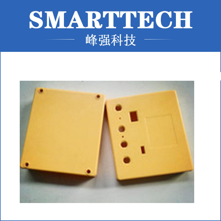 Colorful plastic injection mould  for electric parts high tech plastic electric torch enclosure mould