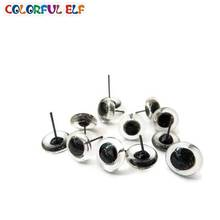 100pcs 2-12mm Glass Eyes For Animal Doll Gratis frakt
