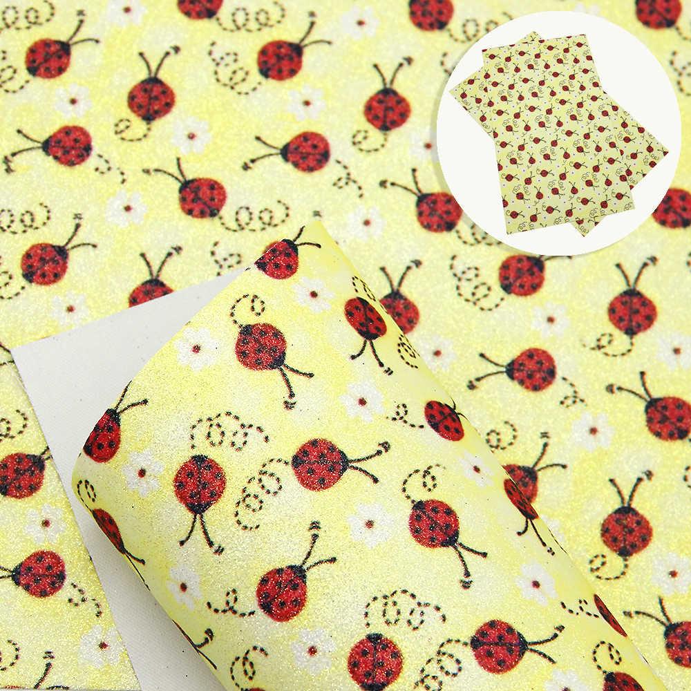 David acessórios 20*34cm flores frutas falso tecido de couro sintético, diy decorativo hairbow saco artesanato, 1yc6510