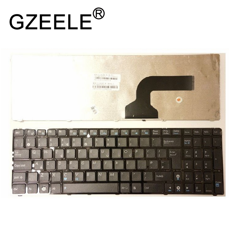 GZEELE New Black Keyboard For ASUS K53 K53E K53S K53SJ K53SC K53U K53Z K53BY X72J X72D X72DR X72JK X72JR X72JT X72F LAPTOP UK