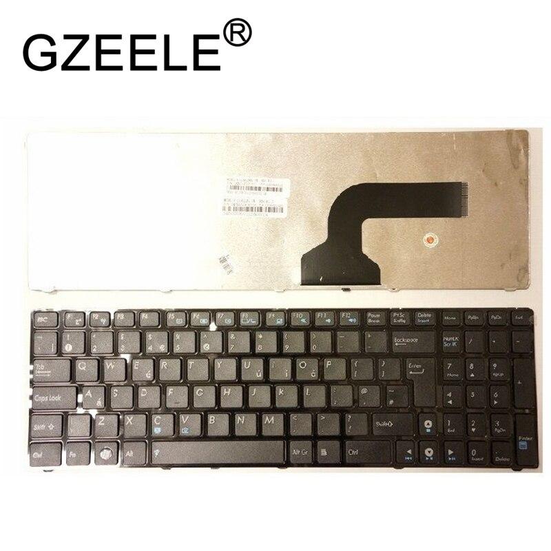 Bilgisayar ve Ofis'ten Yedek Klavyeler'de GZEELE için Yeni siyah klavye ASUS K53 K53E K53S K53SJ K53SC K53U K53Z K53BY X72J X72D X72DR X72JK X72JR X72JT x72F DIZÜSTÜ İNGILTERE title=