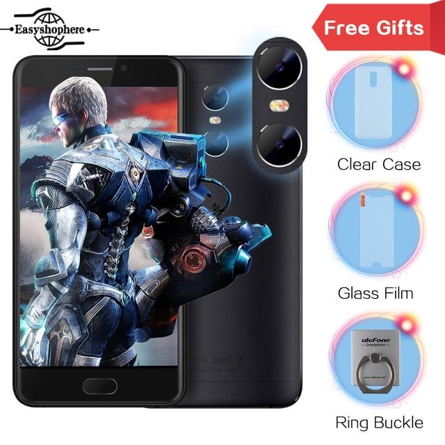 "Ulefone GEMINI Dual Camera Smartphone 5.5"" FHD 1920X1080 3GB RAM+32GB ROM MTK6737T OTG Fingerprint Moblie Phone 4G Unlock Phones"