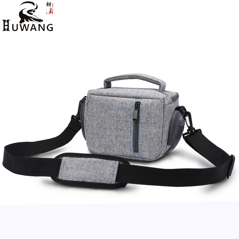 HUWANG High Quality Camera Bag Case For Sony A6300 A5000 A6000 HX400V HX350 HX300 H400 NEX5 A5100 Canon G9X G7X SX720 Nikon Bag