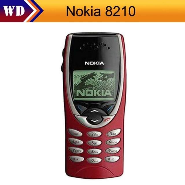 Nokia 8210 Original Nokia GSM 2G Unlocked Refurbished Cheap Cellphone