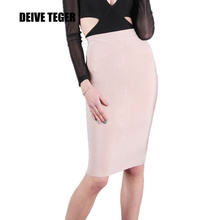 deive teger  pencil skirt  bandage skirt women knee-length skirts 15 colors 60cm hl1186