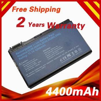 Batería de ordenador portátil de 4400mAh para Acer TM00741 TM00742 TM00751, Extensa...