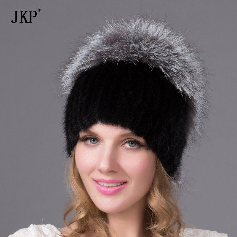 Իրական բնական հալոց մորթյա գլխարկ - Հագուստի պարագաներ
