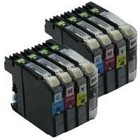 LC137 LC135 LC-137 LC 137 XL LC1137XL Ink Inkjet Cartridges For Brother MFC-J4410DW MFC-J4510DW MFC-J4710DW DCP-J4110DW Printer