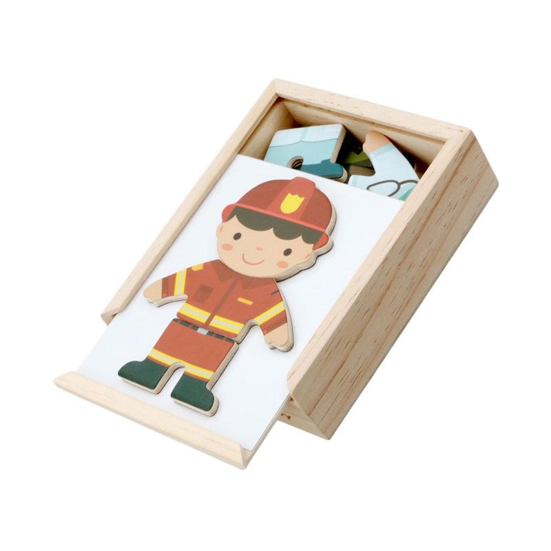 Materiales Montessori Sensorial niño tela cambiando de vestirse rompecabezas de Aprendizaje Temprano juguetes educativos para niños UC2364H