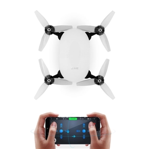 J.ME Follow Me Wifi FPV with 4K Camera GPS Quadcopter Controlled by Phone be frank with me