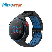 Microwear X2 Plus Smart Watch waterproof blood pressure smart band Bluetooth Heart Rate Pedometer Bracelet BT Camera