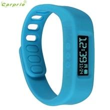 Новинка 2017 года Bluetooth 4.0 Смарт наручные часы браслет здоровья спорт и сна отслеживание Фитнес Мода Smart Watch AU11b