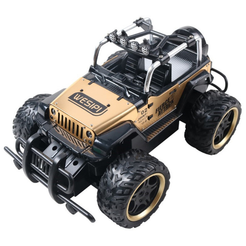 1:14 4WD Alloy RC Cars Updated Version 2.4G Radio Control RC Cars Toys 2018 High speed Trucks Off-Road Trucks Toys for Children large 1 12 4wd rc cars 2 4g radio control rc cars toys buggy high speed off road rock crawler monster trucks toys for children
