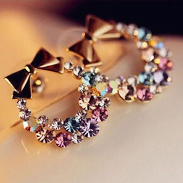 brincos in women vintage fashion cuff orecchini item party pendientes jewelry from colourful plated ear crystal gold for indian stud earrings