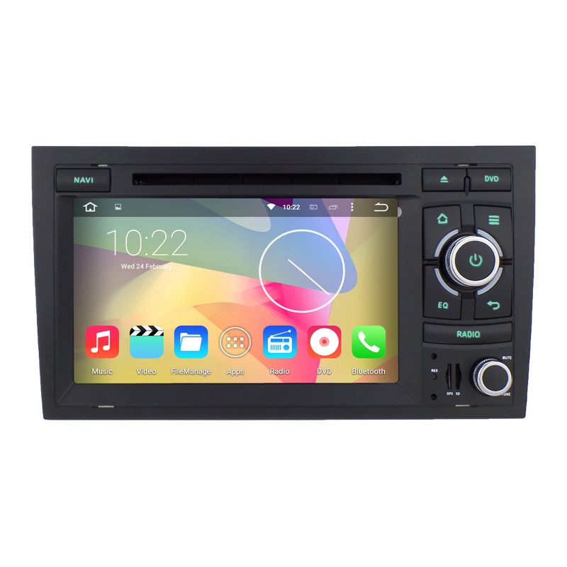Inch Quad Core  Car Gps Navigator For Audi A   Dvd Player Se F B B Radio Navigation System Wifi