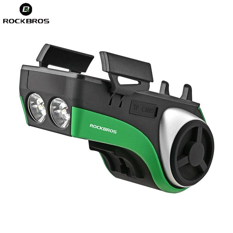 5 в 1 Водонепроницаемый велосипедов компьютер держатель телефона Bluetooth аудио плеер 4400 мАч Мощность банк колокол свет Велоспорт Аксессуары ...