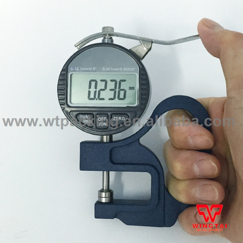 0.001mm High Accuracy Digital Thickness Gauge Meter 30mm Leather paper film Thickness Measuring Tool