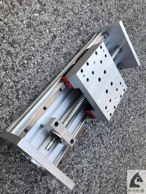 CNC Z ציר מפעיל 200mm נסיעות CNC נתב מפעיל, 3D מדפסת עם 1605 סוג פיר