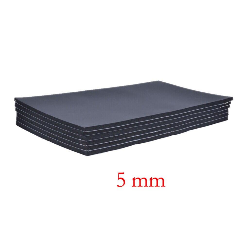 6 stuks 10mm Auto Kap Isolatie Auto Sound-Slip Geluiddempende Mobiele Isolatie Schuim Voor Van Geluidsisolatie Deadening isolatie