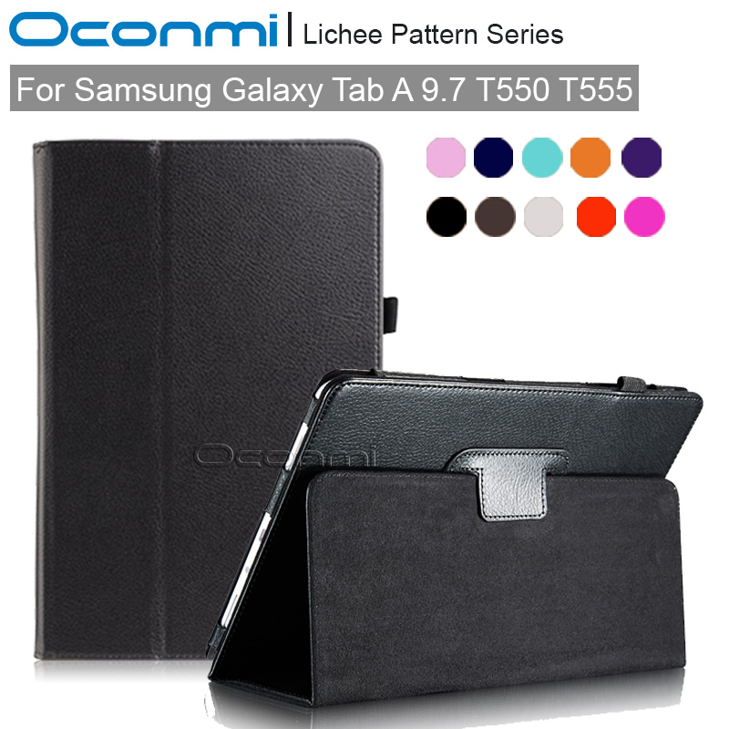 PU leather Smart case for Samsung Galaxy Tab A 9.7 T550 T555 slim magnet cover for Samsung TabA 9.7 SM-T550 SM-T555 case case for samsung galaxy tab a 9 7 t550 inch sm t555 tablet pu leather stand flip sm t550 p550 protective skin cover stylus pen