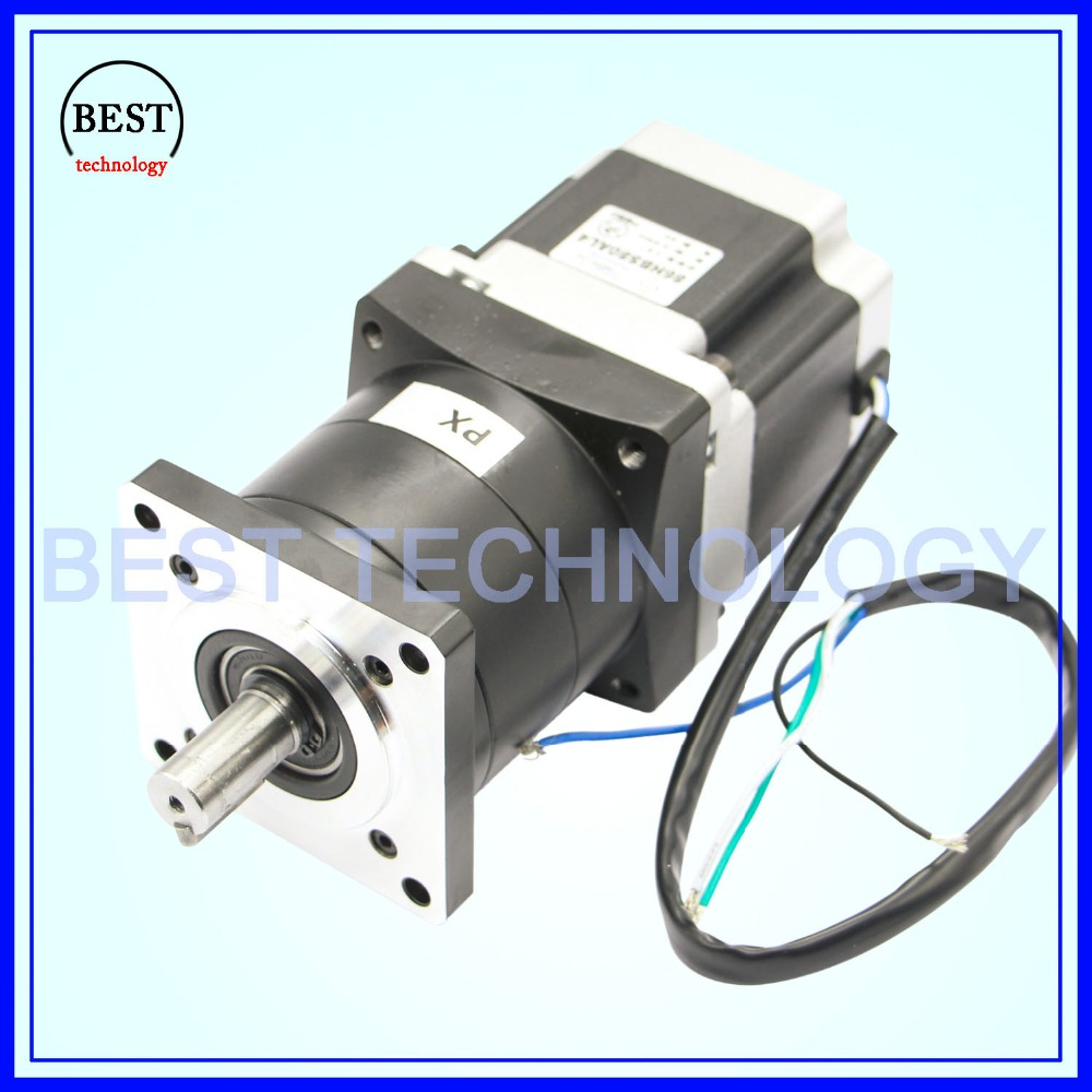 Nema23 Motor Planetary Reduction Ratio 1:10, 1:16 planet gearbox 57 x 56 mm motor speed reducer, High Torque high quality !! high quality 5n m 42 42 119 7mm brushless dc motor with planetary gearbox reduction ratio 104 8