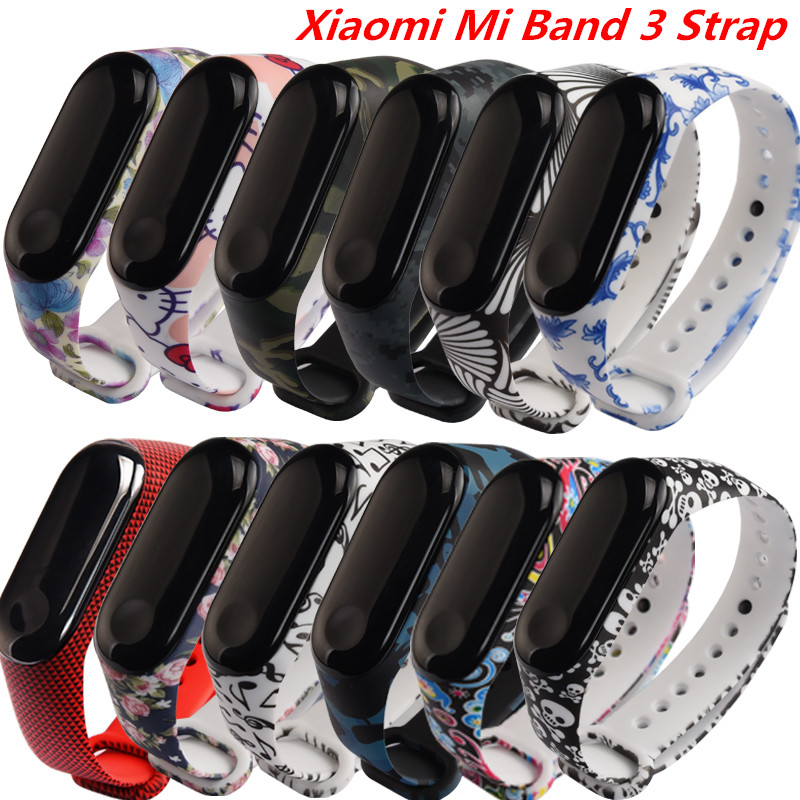 New Colorful Xiaomi Mi Band 3 Strap For Miband 3 Bracelet Strap Mi Band 3 Accessories Bracelet Mi Band3 Wriststrap