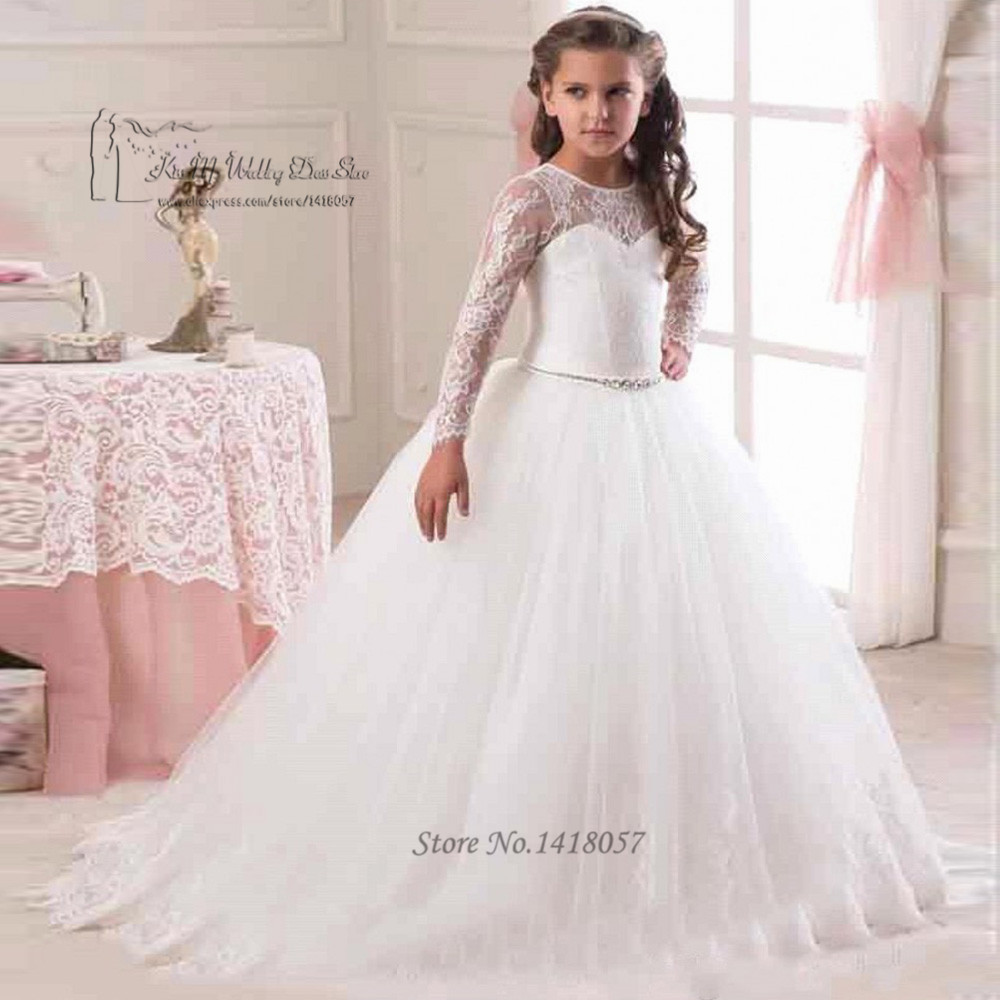 White graduation dresses for kids online shopping-the world ...