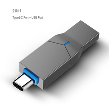 2 in 1 Novelty Type-C USB Flash Drives 64GB 128GB 16GB 32GB For Android Stick Typed C Memory Disk Dropshipping