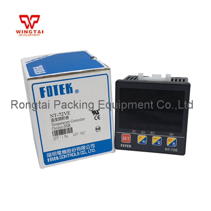 NT-72VE SSR Fotek Temperature Controller 100% authentic original fotek temperature controller nt 20v 90 265vac ssr output