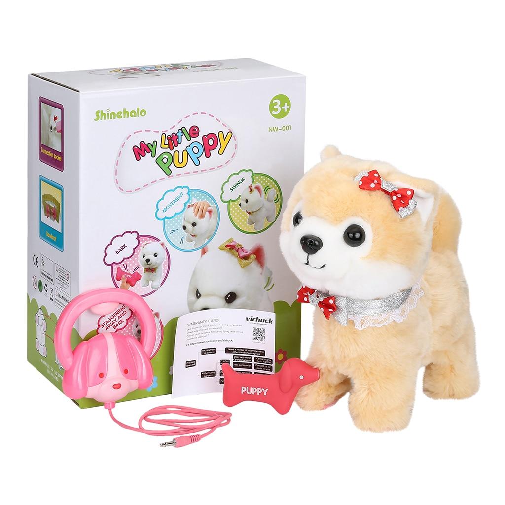 Shinehalo Walking, Barking Puppy Dog Toy Pet Electric
