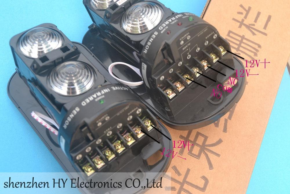 bilder für Photoelektrische Dual Strahl Infrarot-detektor/Sensor (Sender Empfänger) outdoor 100 Mt Hausgarten Sicherheit