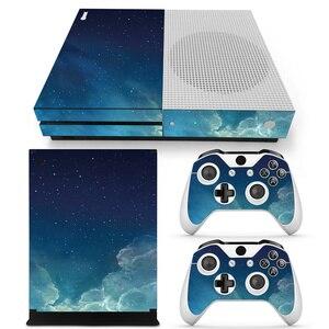 Image 3 - כוכב ויניל מדבקת עור מגן עבור Microsoft Xbox אחת SLIM ו 2 בקר skins מדבקות לxboxone S